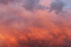 dramatyczny niebo Obrazy Royalty Free
