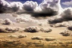 Dramatyczny niebo Zdjęcie Royalty Free
