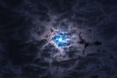 Dramatyczny niebo Obraz Royalty Free