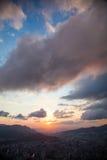 Dramatyczny niebo Fotografia Stock