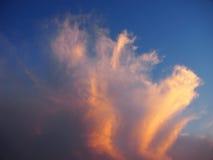 Dramatyczny niebo 47 Fotografia Stock