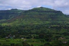 Dramatyczny Sajjangad krajobraz Fotografia Royalty Free