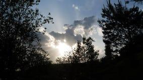 Dramatyczny Timelapse chmury 4k zbiory