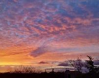 Dramatyczny wschód słońca 01 Obraz Stock