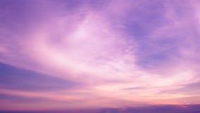 Dramatyczny zmierzch chmury zmierzch Fotografia Stock