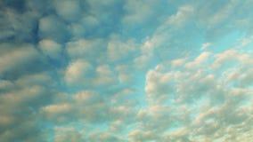 Dramatyczny zmierzchu niebo z chmurami - czasu upływ zbiory wideo