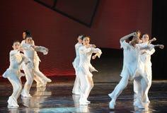 Drame de danse de boxe-Le de Taiji la légende des héros de condor Photo stock