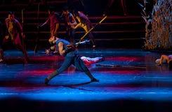 Drame de danse de Chinois Photographie stock