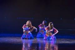 Drame de danse de Li Bath Dance 2-Lilac photo stock