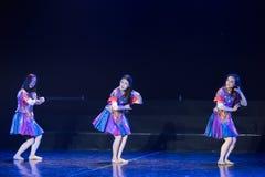 Drame de danse de Li Bath Dance 3-Lilac image stock