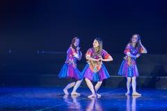 Drame de danse de Li Bath Dance 4-Lilac photographie stock