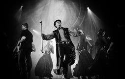 Dramma ungherese di ballo moderno: Anche banchetto fotografie stock