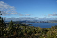 Drammens fjord Royalty Free Stock Photography