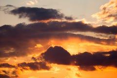 Dramtic Sky Background Stock Image