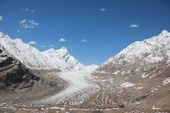 Drang-Trommel-Gletscher stockfotografie