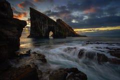 Drangarnir rocky arch