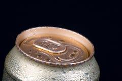 Drank in bank de behandelde dauw Stock Afbeelding