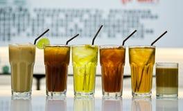 Drank in een glas Royalty-vrije Stock Foto's