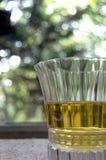 Drank en Glasdeur royalty-vrije stock afbeelding