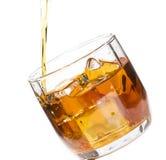 Drank met ijs Stock Afbeelding