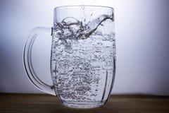 dranken Bier, water Royalty-vrije Stock Fotografie