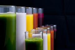 Dranken van gezondheid Stock Foto's