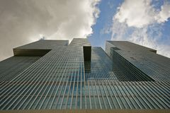 Drapacz chmur od Rotterdam Obraz Royalty Free