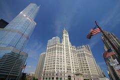 Drapacz chmur w Chicago fotografia stock