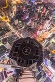 Drapacz chmur widok w Shenzhen, Chiny zdjęcia royalty free