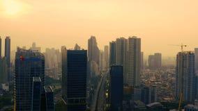Drapacz chmur z XL Axiata budynkiem biurowym zbiory wideo