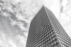 Drapacza chmur budynek stalowa fasada w los angeles obronie, Paris, France Zdjęcie Stock