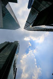 drapacze chmur Zdjęcia Stock