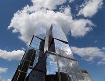 Drapacze chmur Moskwa Międzynarodowy centrum biznesu, Rosja (miasto) Fotografia Stock