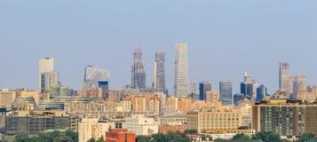 Drapacze chmur, Pekin śródmieście, Chiny Zdjęcia Stock