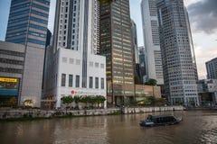 Drapacze chmur Singapur Zdjęcia Royalty Free