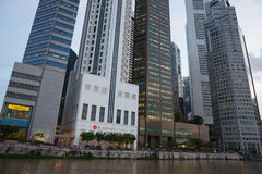 Drapacze chmur Singapur Obraz Stock