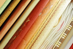 Drape samples Stock Images