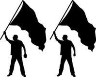 drapeau Images stock