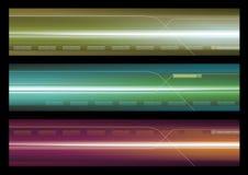 Drapeau abstrait de Web Illustration Libre de Droits
