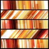 Drapeau abstrait pour votre conception Photo stock