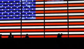 Drapeau américain Photo stock