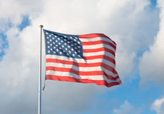 Drapeau américain Photos stock