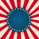 Drapeau américain de fond patriotique illustration de vecteur