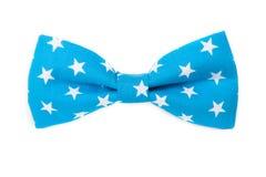 Drapeau américain des Etats-Unis sur le noeud papillon d'isolement Photo libre de droits