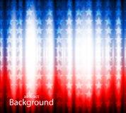 Drapeau américain, fond abstrait de Image stock