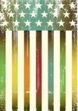 Drapeau américain texturisé multicolore Photographie stock libre de droits