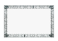 Drapeau blanc Photographie stock libre de droits