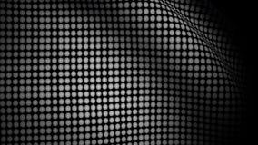 Drapeau blanc Dots Waving Texture illustration stock