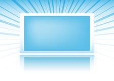 Drapeau bleu Image libre de droits