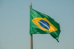 Drapeau brésilien photographie stock